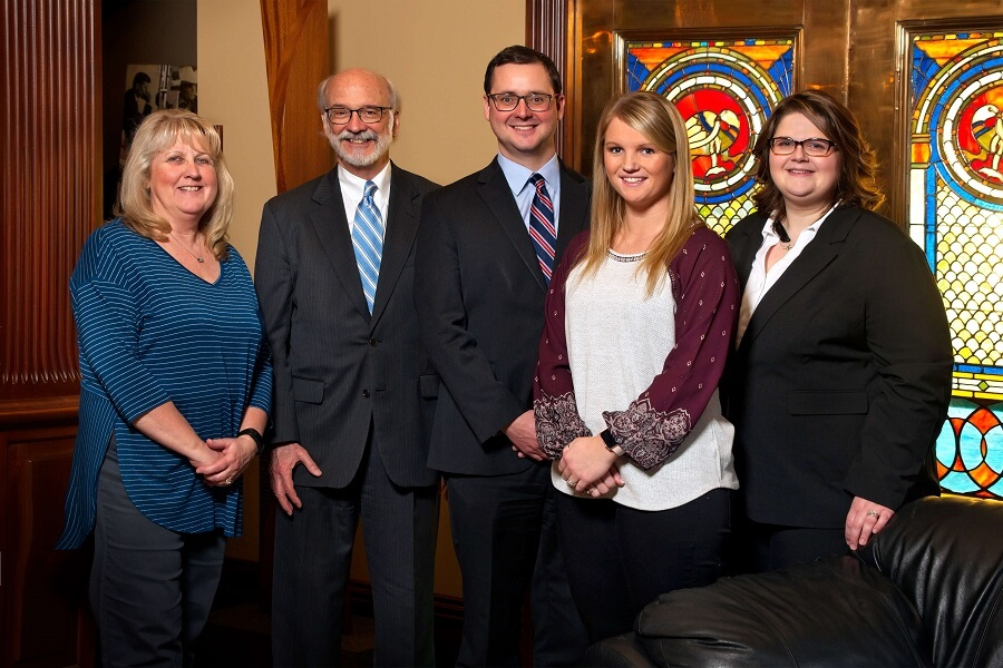 Leeman Law Staff Group Photo